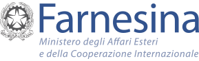 Logo del Ministero Affari Esteri e della Cooperazione internazionale